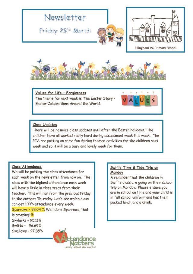 thumbnail of Newsletter 29.03.19
