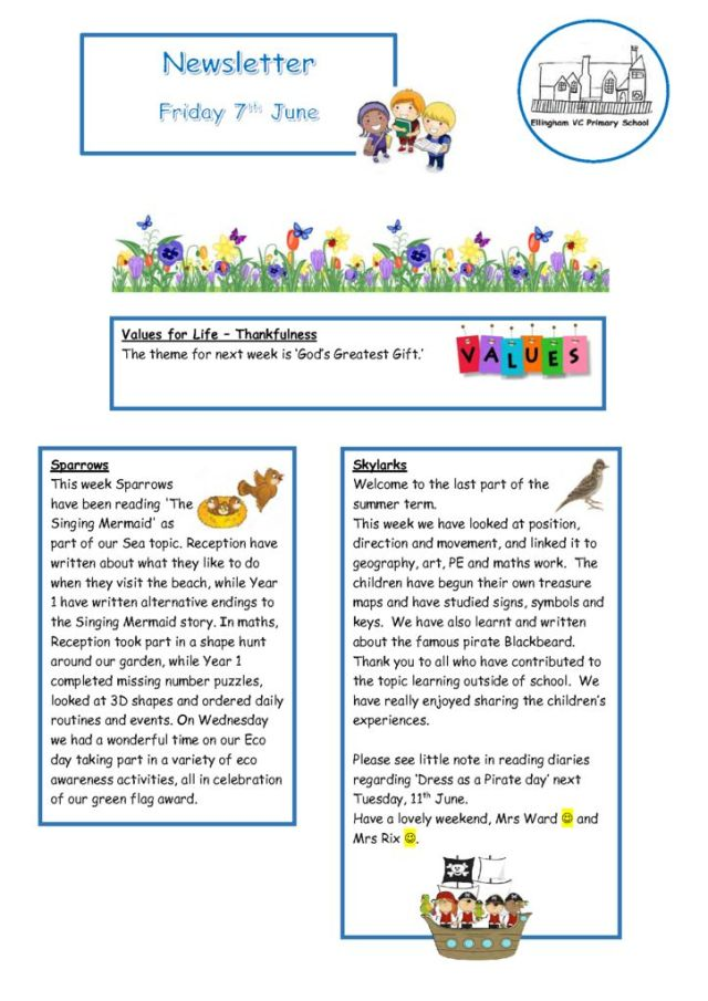 thumbnail of Ellingham Newsletter 07.06.19