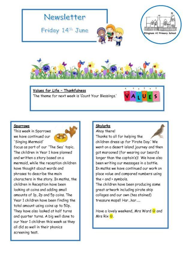 thumbnail of Newsletter 14.06.19