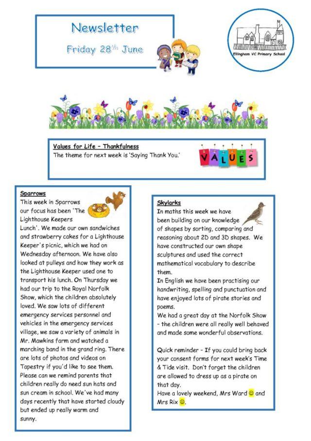 thumbnail of Newsletter 28.06.19