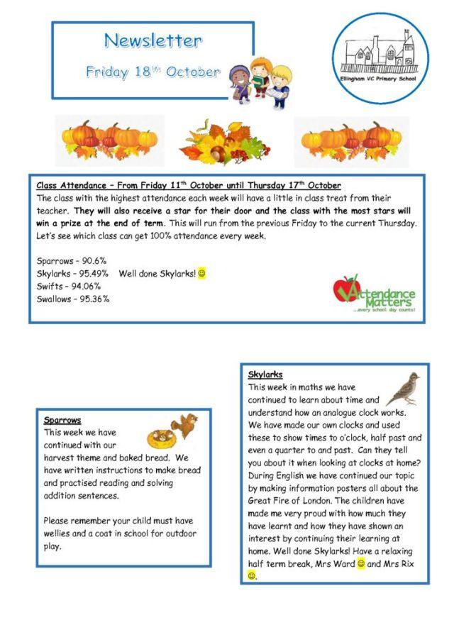 thumbnail of Newsletter 18.10.19