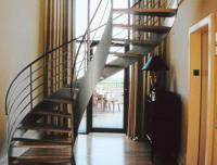 French Deco Stairway  Ellingson Interiors