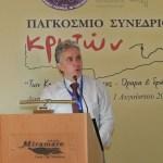 O Πρόεδρος του Παγκοσμίου Συμβουλίου Κρητών Γιώργος Αεράκης