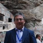 Ο Ηλίας Μαυρίδης στο μοναστήρι Παναγία Σουμελά