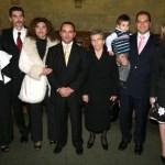 Το ΔΣ του Ιδρύματος μαζί με την οικογένεια του εκλυπόντος GEORGE BEST COSTACOS Ντόρα Ζιώνγκα, Νίκο Φλώρο πρόεδρος του Ιδρύματος στην Αμερική, Κυριακή Κωστάκου με τον Κώστα Τριβιζαλάκη, Αντωνία Κωστάκου, Ρούλα Σαράντου, με τον πρόεδρο του Ιδρύματος στην Ελλάδα Νίκο Κωστάκο.