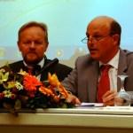 Herbert Krüger, Oberbürgermeister von Neckartenzlingen, Reinhard Heller, Oberbürgermeister von Detmold