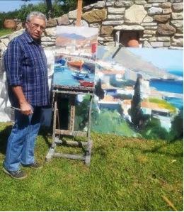 Μόσχα: «Θαλασσοθεραπεία» του Έλληνα ζωγράφου Βασίλη Κολοκυθά - ELLINIKI  GNOMI • Die Zeitung der Griechen in Europa.