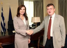 Γεροντοπουλος με πρεσβη Αυστραλιας