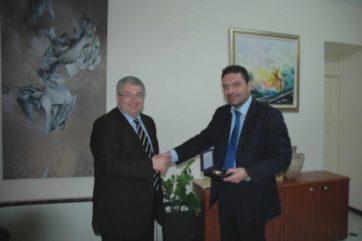 οι κ.κ. Ιωάννης Χρυσουλάκης και Κωνσταντίνος Πετρίδης