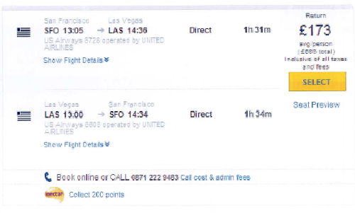 So you have a screen shot of your Expedia booking  so what
