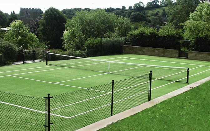 Tenniturf tennis court surface from EnTC Courts
