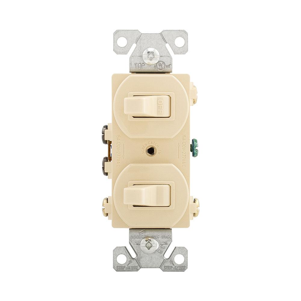 medium resolution of 275v 275v box eaton 275v box cooper wiring 275vbox 3way ivory single pole duplex toggle switch