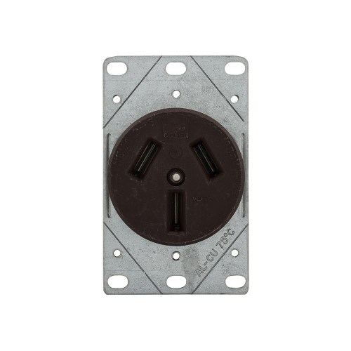 small resolution of 32b 32b box eaton recp 50a 125 250v 3p3w str flush mnt br eaton 50 amp heavyduty grade flush mount power receptacle with 4wire