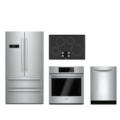 4 Piece Stainless Steel Kitchen Package Pendant Lighting Over Island Appliance Packages Home Appliances