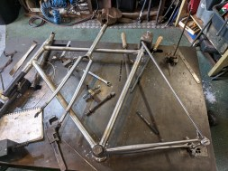 frame coming together now..