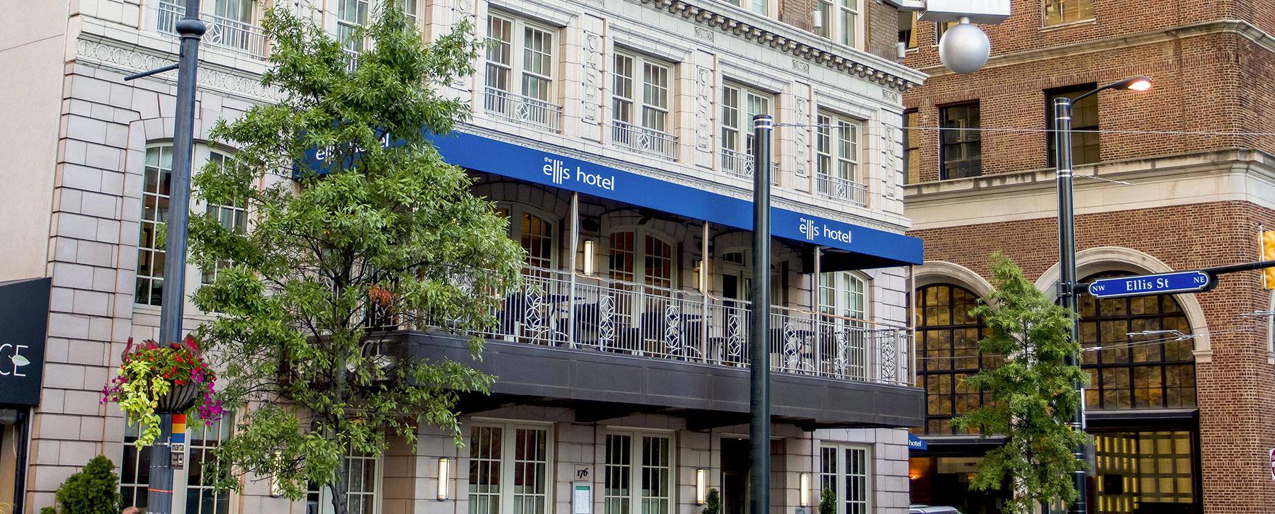 Chic Boutique Hotel In Atlanta Ga Ellis Hotel