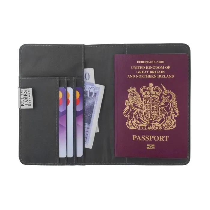 Cream Travel Passport Keeper