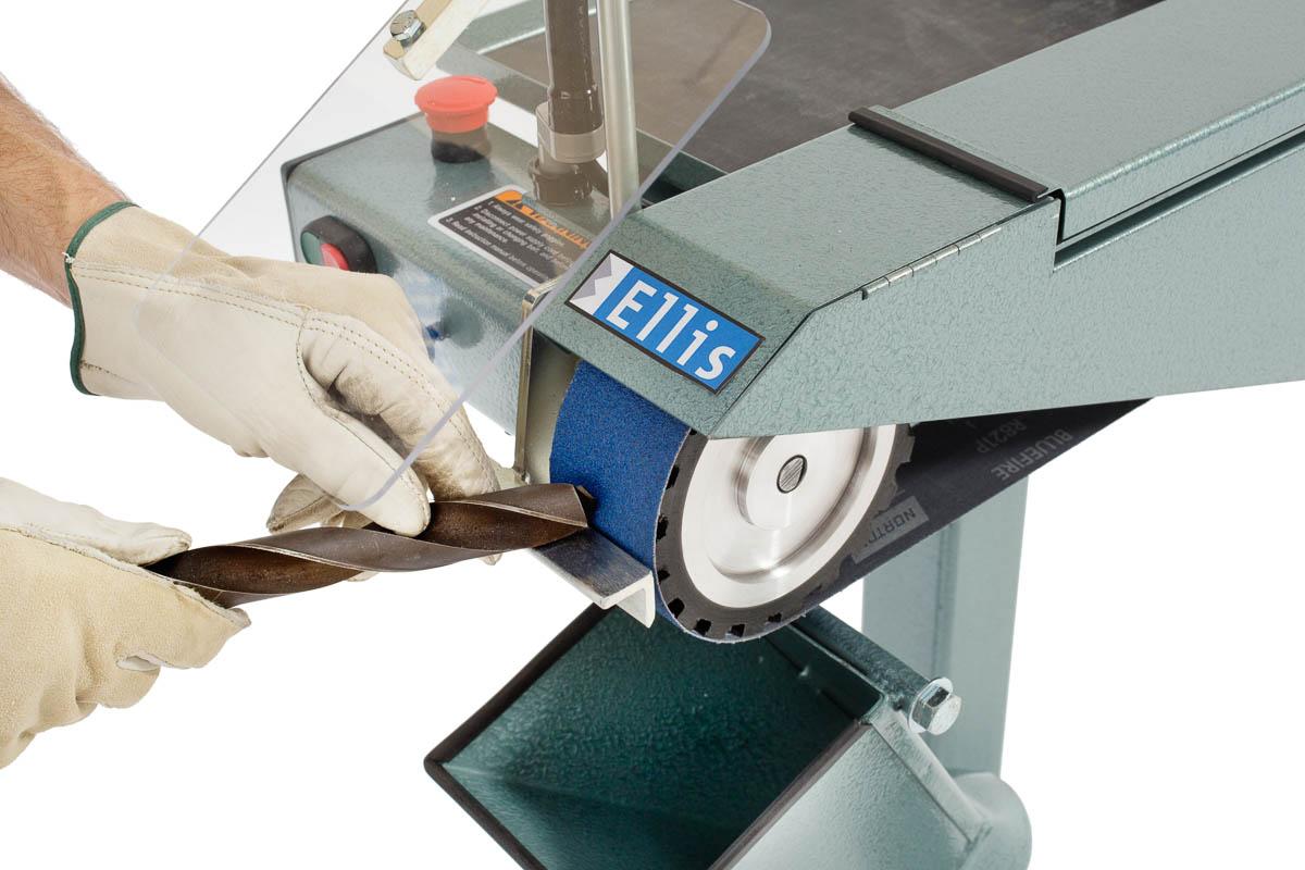 Stationary Belt Sander For Metal