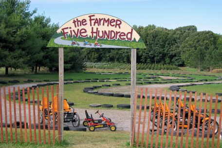 The Farmer Five Hundred pedal carts