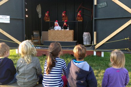 "Educational ""Chicken Show"" at Ellms Family Farm"