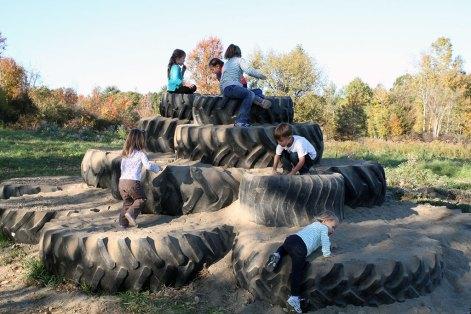 Tire Mountain near Saratoga springs ny