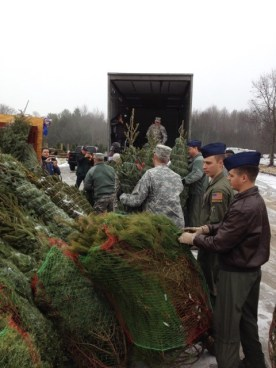 Trees for Troops - Donate Christmas Trees