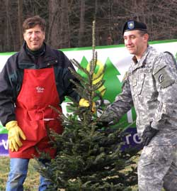 Trees for Troops - Donate your Christmas Tree
