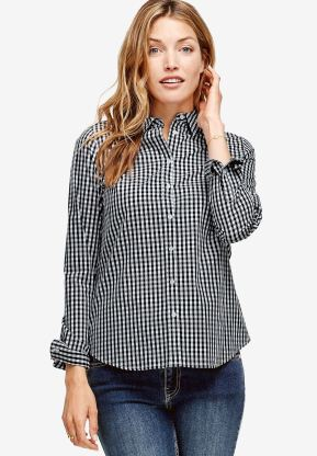 Image result for emma button down shirt ellos