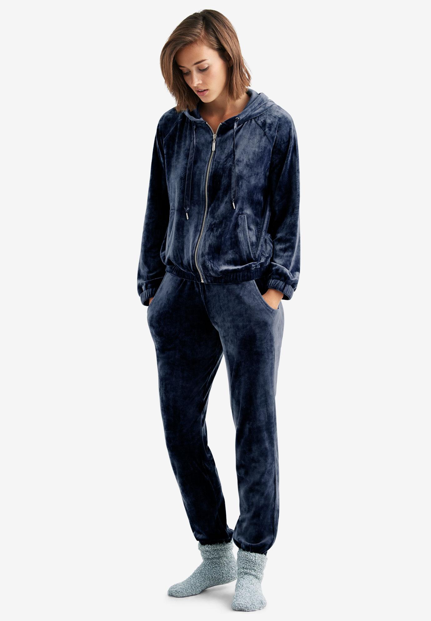 Velour Jogger By Ellos Plus Size Pants