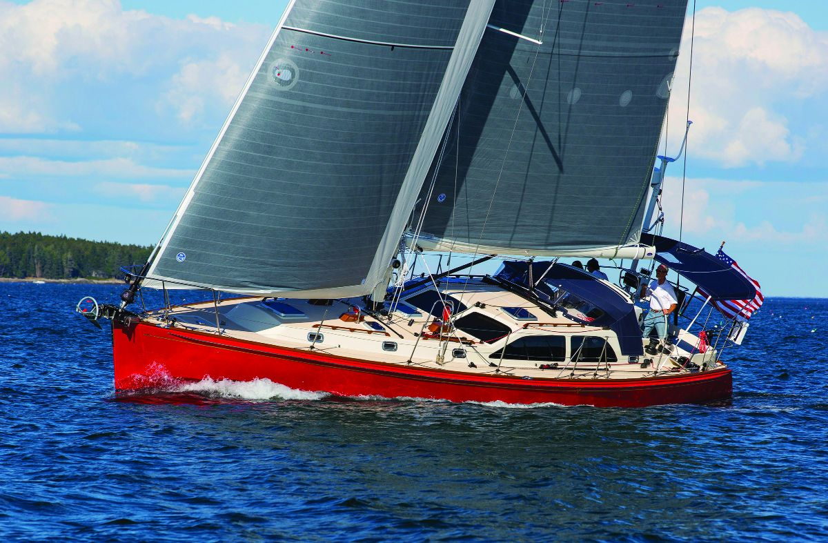 hight resolution of scarlett bee the first morris yachts ocean series 48 gt won the 2015 sail