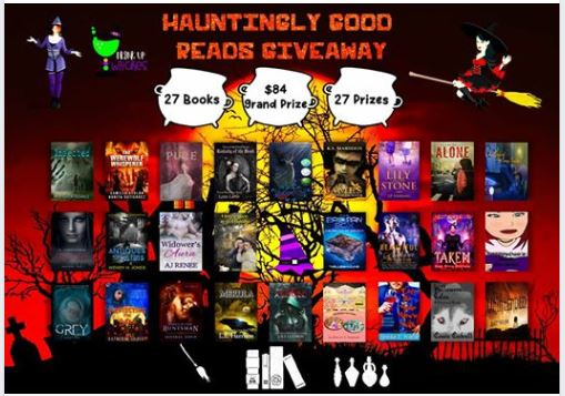 Hauntingly Good Reads Giveaway