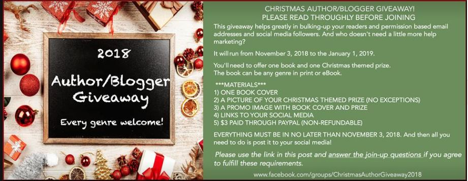Christmas Author/Blogger Giveaway