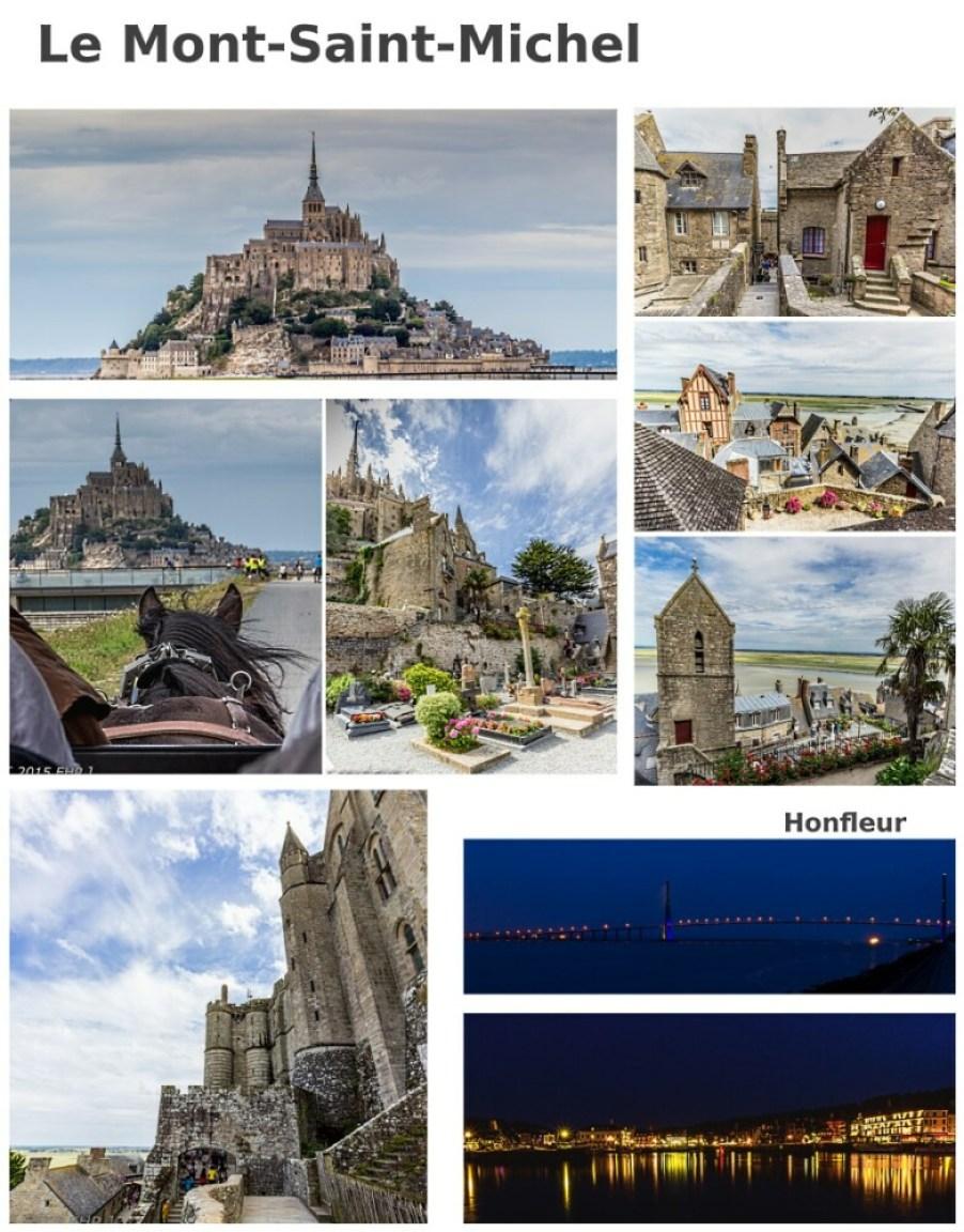 Le Mont-Saint-Michel collage - BLOG