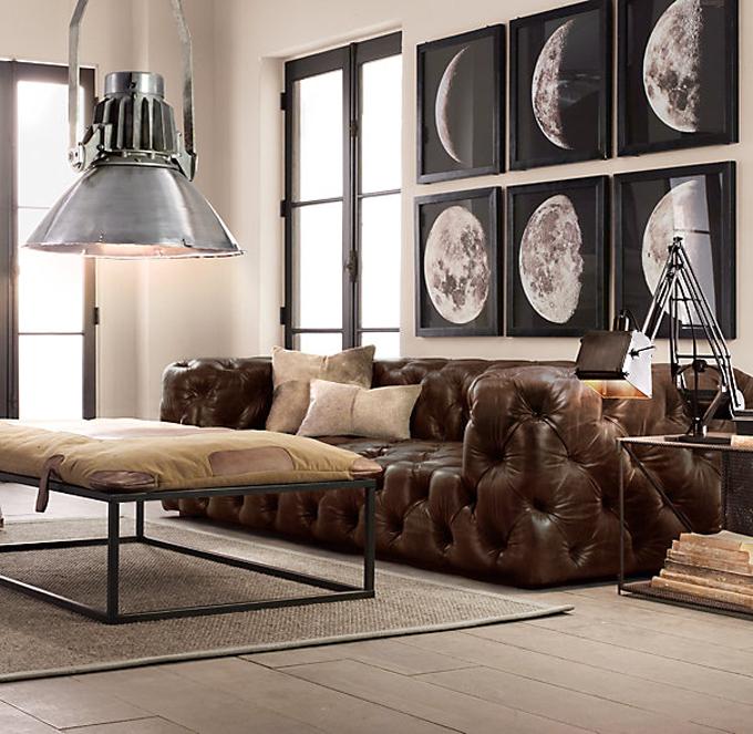 soho leather sofa restoration hardware www.caribbealivingblog.com