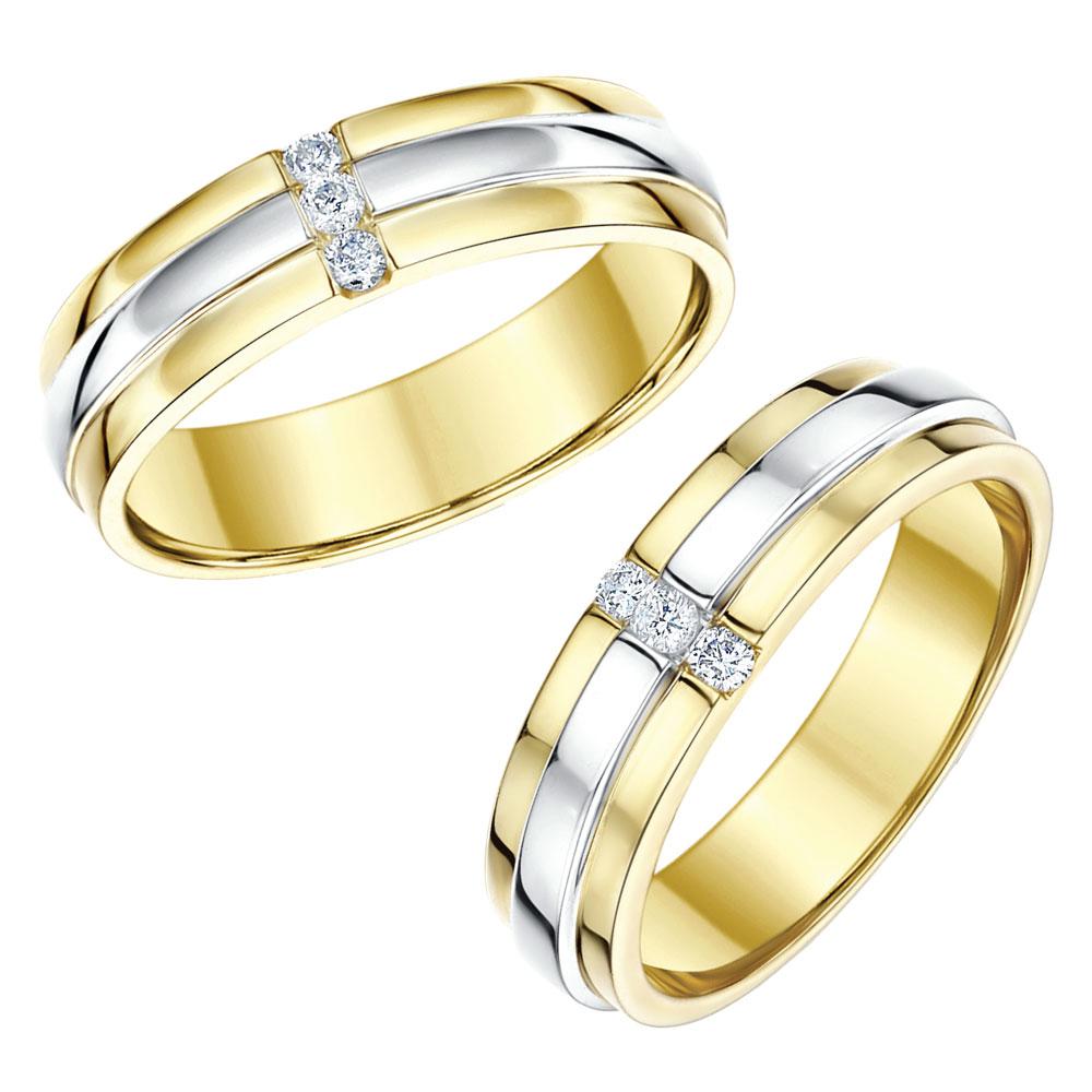 Cheap Wedding Ring Sets Gold