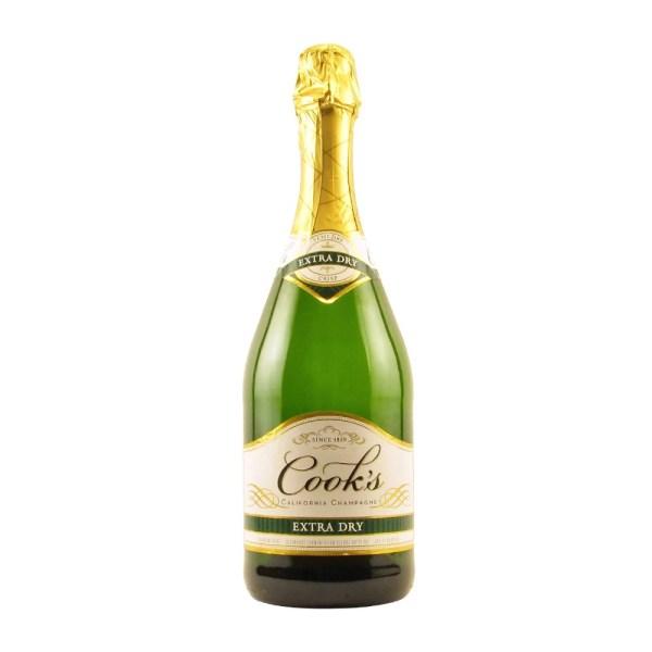 Cooks Extra Dry Champagne 750ML Elma Wine Liquor