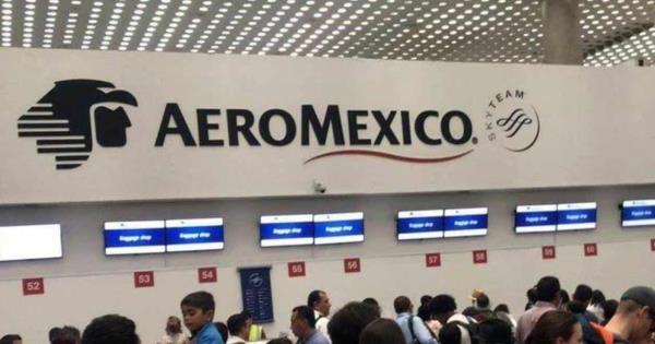 Falla sistema de check in de Aeroméxico en AICM