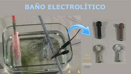 imagen baño electrolítico