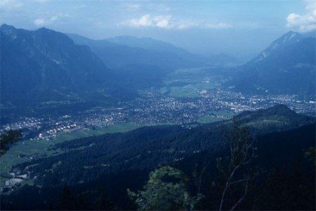 Luftperspektive Fotolexikon