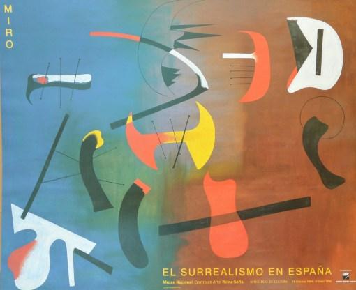 Joan Miró – «El Surrealismo en España» Museo Nacional Centro de Arte Reina Sofía 60×74 cms (4)