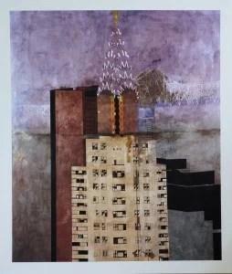 Castillo Jorge, Good morning Chrysler Buiding, Urban Landscapes New York City, original pigment ink print, 94x110 cms. 750 (18)