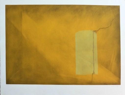 Sevilla Soledad, Grieta II, Grabado aguatinta y carborundum, edición 40 ejemplares, numerado y firmado a lápiz, 85×109 cms (27) 990