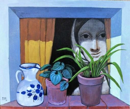 De las Casas Manuel, Ventanuco, pintura oleo lienzo, 46×55 cms. (11)