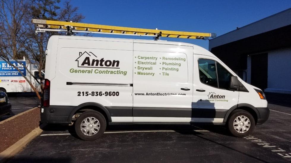 Anton Electric Vehicle Wrap