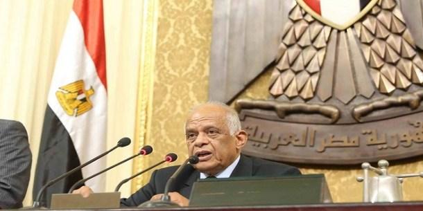Image result for مجلس النواب على عبد العال