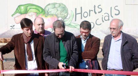 Inauguran más huertos sociales en Burjassot