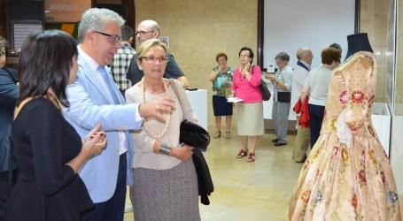 Los fondos del Museo de la Seda, en la nueva sala de exposiciones de Moncada