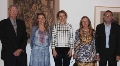 Torrent inaugura la exposición 'Línies Mestres, Dibuixos del Museu de Belles Arts de València'