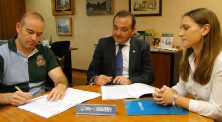 Caixa Rural Torrent sella un acuerdo de colaboración anual con la FDM de Torrent para impulsar el deporte en la ciudad