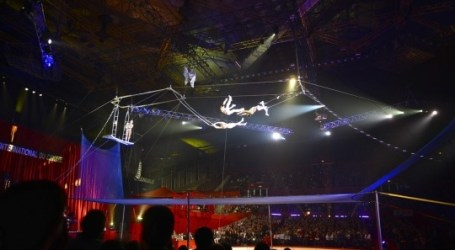 El Circo Wonderland trae a Valencia a los trapecistas Vulber